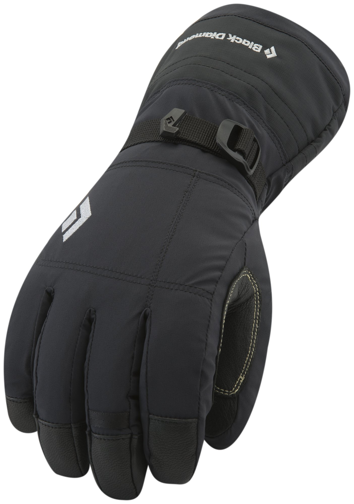 Black Diamond Soloist Cold Weather Gloves, Black, Medium by Black Diamond