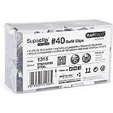 Rapesco 1315 Supaclip 40 Confezione di ricarica clip all'ingrosso (Box 350)