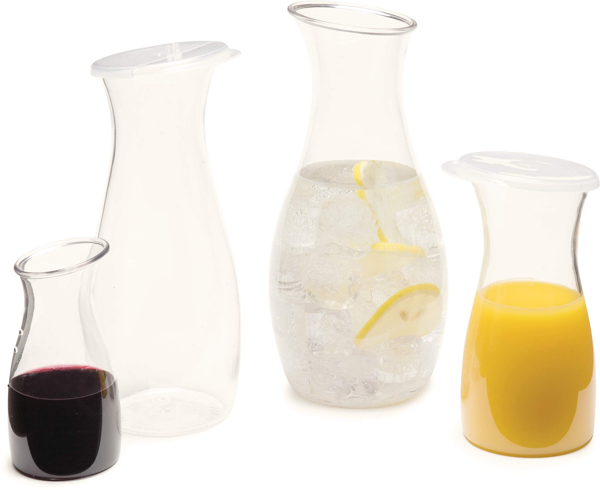 Carlisle 7090207 Cascata Carafe Juice Jar Beverage Decanter Only, Plastic, 1 L, Clear by Carlisle (Image #6)