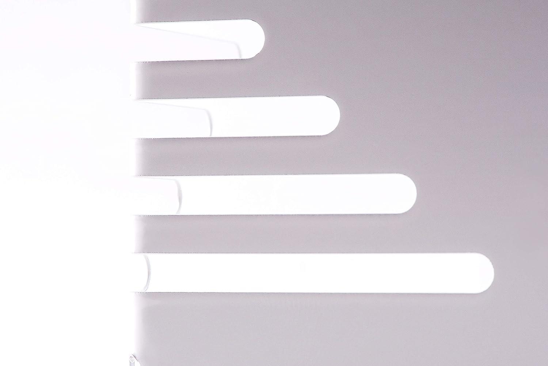 Maul 3501002 Lot de 2 Serre-livres Blanc