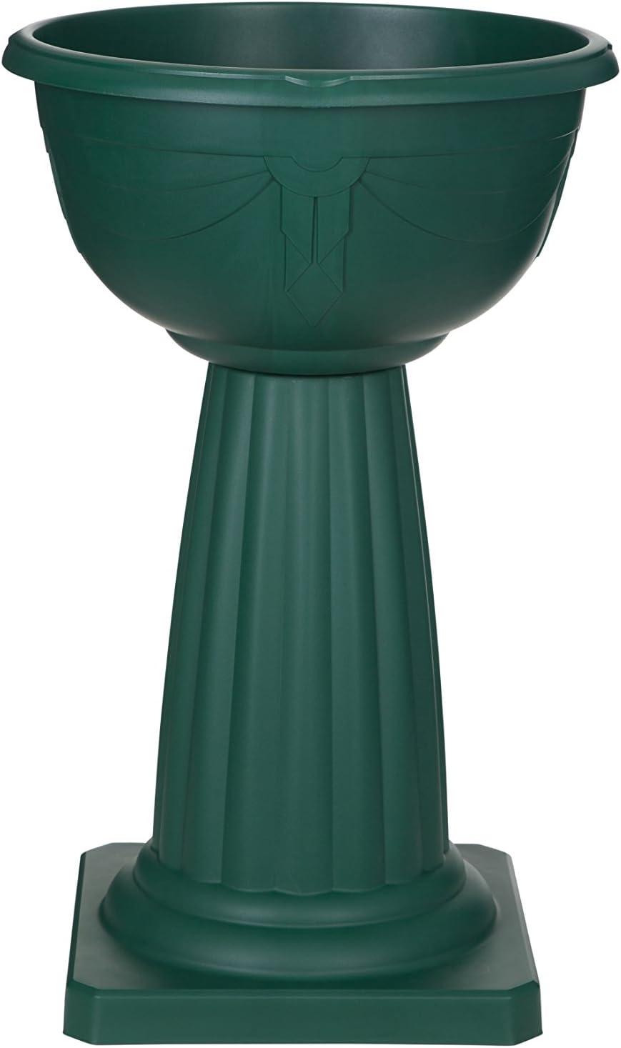 Whitefurze G1503 Urne Grecque Vert Sapin 42/cm
