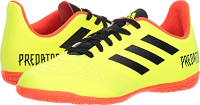 buy popular a3227 9a4ed adidas Unisex Predator Tango 18.4 in J Running Shoe Yellowcore BlackSolar  red