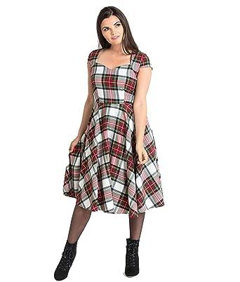 2968292856e Hell Bunny 50 s Aberdeen Robe À Carreaux  Amazon.fr  Vêtements et  accessoires