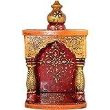 Ranvijay Wooden Pooja Mandir / Hanging Temple - 11 X 6.5 Inch
