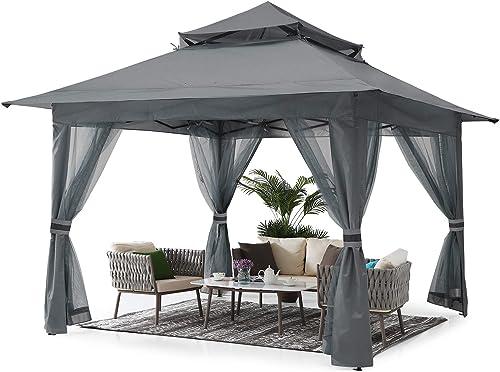 ABCCANOPY 11'x11' Gazebo Tent Outdoor Pop up Gazebo Canopy Shelter