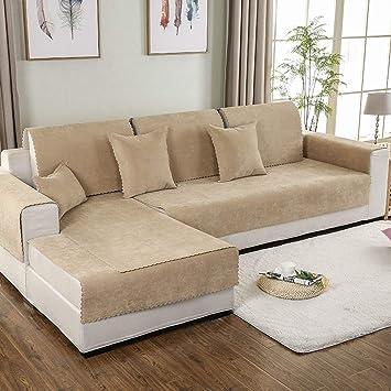 Amazon.com: AILY Funda de sofá seccional impermeable de 3 ...
