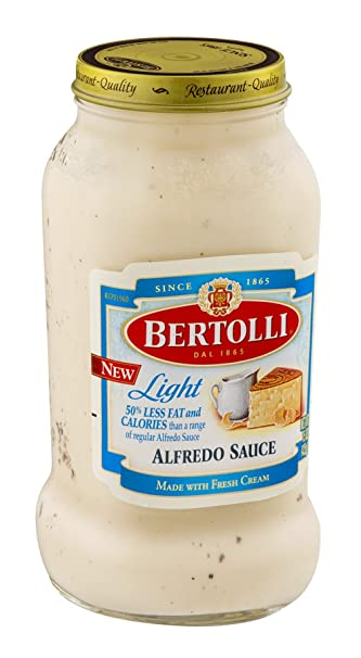 Bertolli Light Alfredo Sauce 15 OZ (Pack Of 12)
