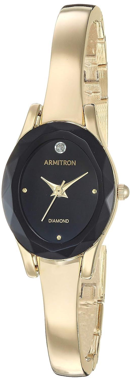 Armitron Women s 75 5619 Diamond-Accented Bangle Watch