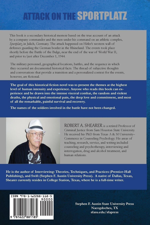 worksheet Stephen F Austin Facts attack on the sportplatz robert shearer 9781622881185 amazon com books