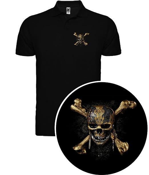 The Fan Tee Camiseta de Piratas del Caribe Jack Sparrow Hombre Qh7k8oMbGp