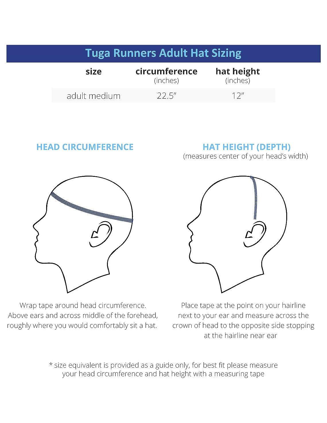 9ba2d585ec7 Tuga Adult Unisex Runners Hats (UPF 50+)