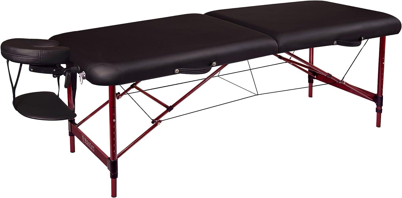 B000OZRZ0E Master Massage Zephyr Lightweight Portable Massage Table Package, Black 71f9B2fjO9L.SL1500_