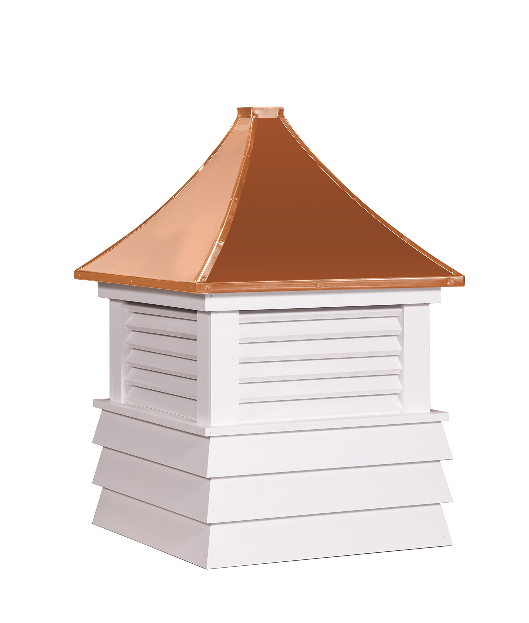 East Coast Weathervanes and Cupolas Vinyl Huntington Cupola (vinyl, 25 in square x 36 in tall) by East Coast Weathervanes and Cupolas