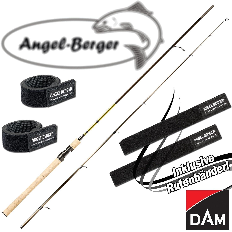 Angel-Berger Dam Nanoflex Pro Spinnrute alle Modelle Rutenband