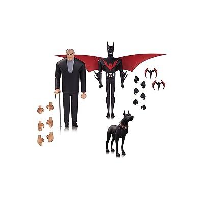 Batman Beyond Jul160450Série animée 3-pack des chiffres Bruce Wayne, Terry Mcginess Ace le chien