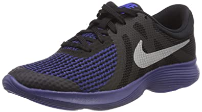 cheap for discount 971ff 2db1b Nike Revolution 4 Rfl (GS), Chaussures de Running garçon, Multicolore (Black