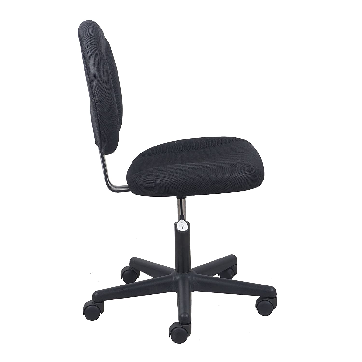 Armless Task Chair Chair Design Ideas