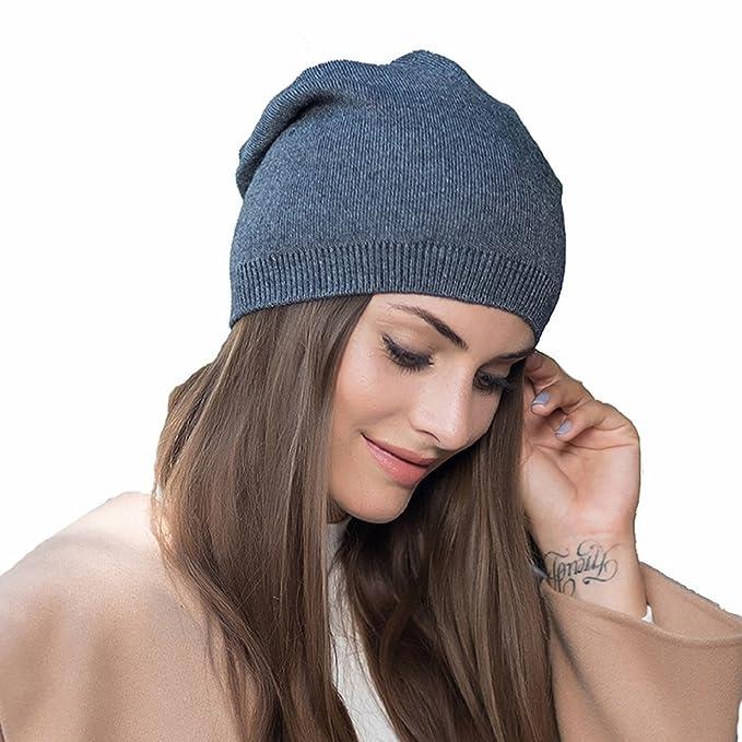 heekpek La Moda Gorro Invierno Mujer Crochet Invierno Sombrero de Lana  Gorro para Mujer de Punto Unisex Cozy Mujeres Grande Sombrero Moda  Amazon. es  Ropa y ... 229a7a5b6a3