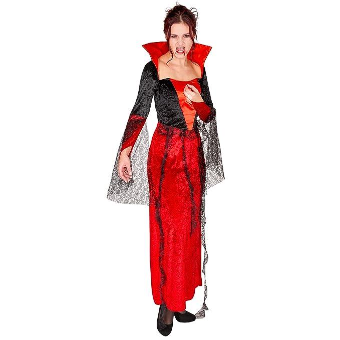 TecTake dressforfun Disfraz de vampiresa gótica para Mujer ...