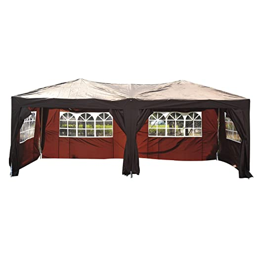 Outsunny 6 X 3 M Garden Heavy Duty Water Resistant Pop Up Gazebo Marquee Party Tent