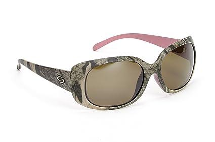 63c487e728 Strike King Women s S11 Optics Madison Polarized Sunglasses with Mossy Oak  Camo Pink Two-