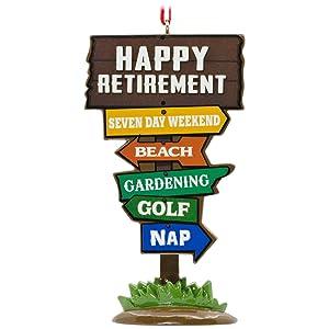 Hallmark Retirement Ornament Milestones