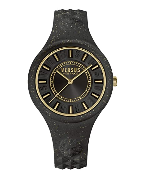 Amazon.com  Versus By Versace Womens FIRE Island Glitter VSPOQ0118  Watches 639556389