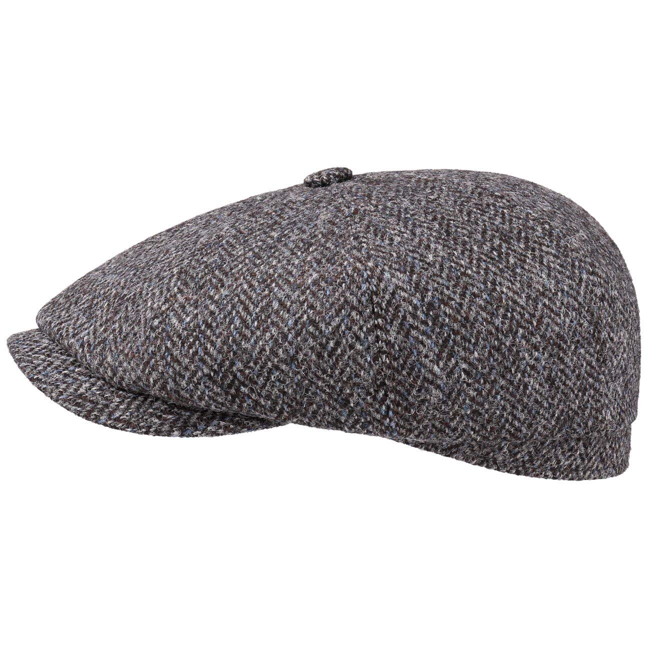 Stetson Gorra Hatteras Tweed Newsy Hombre - Made in Germany Gorros ...