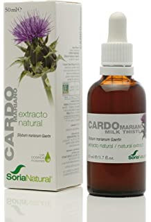 Aceite de Cardo Mariano Bio 200ml - Prensado en Frío - Rico en ...
