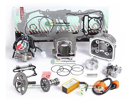 Amazon com : GY6 125cc 150cc upgrade to GY6 200cc add power