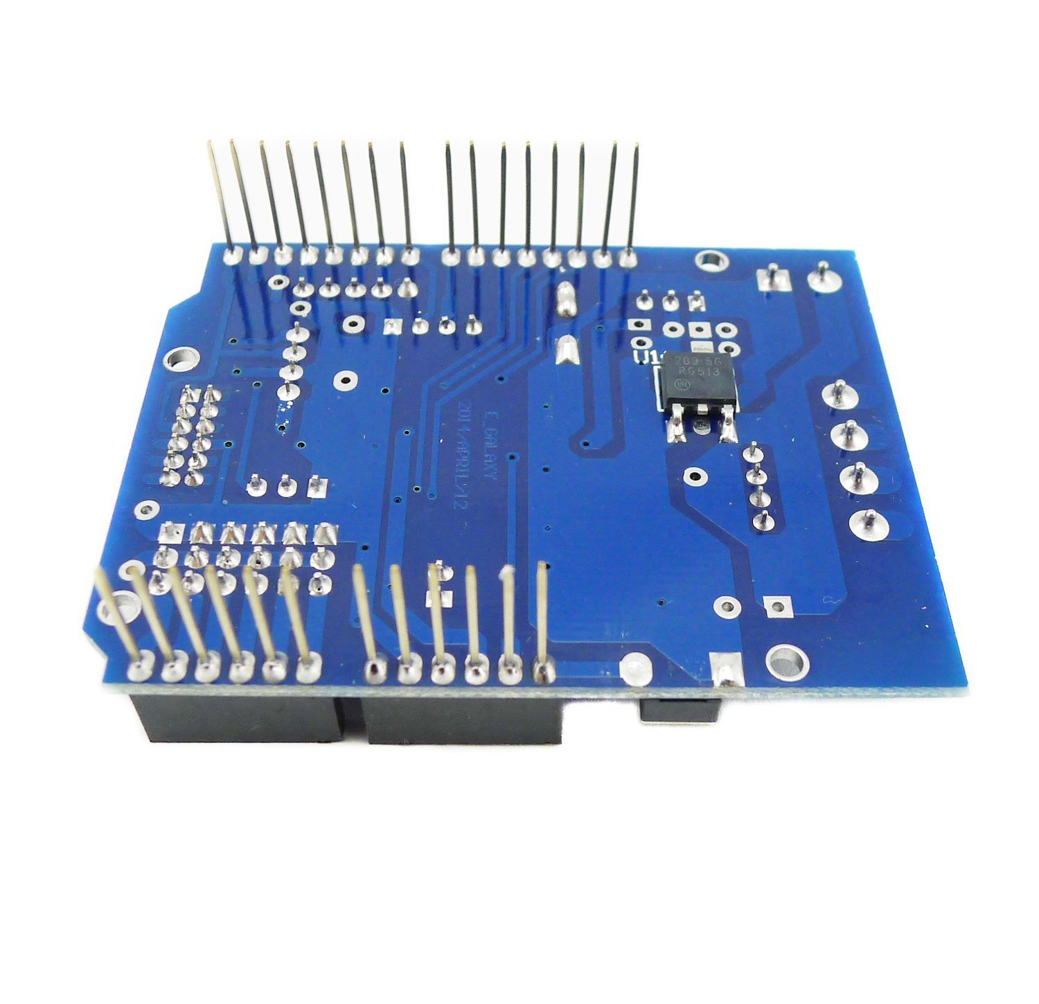 Aihasd L298P Dual Channel Bluetooth Interface High Power H Bridge Motor Driver Shield para Arduino Support Directly Driving 2 DC Motor