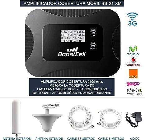 Amplificador Cobertura MOVIL Llamadas + 3G Zonas URBANAS (Omni-Ceiling)
