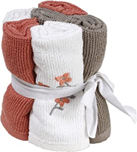 SKL Home by Saturday Knight Ltd. Coral Gardens Wash Cloth Set, Assorted Colors, Set of 6
