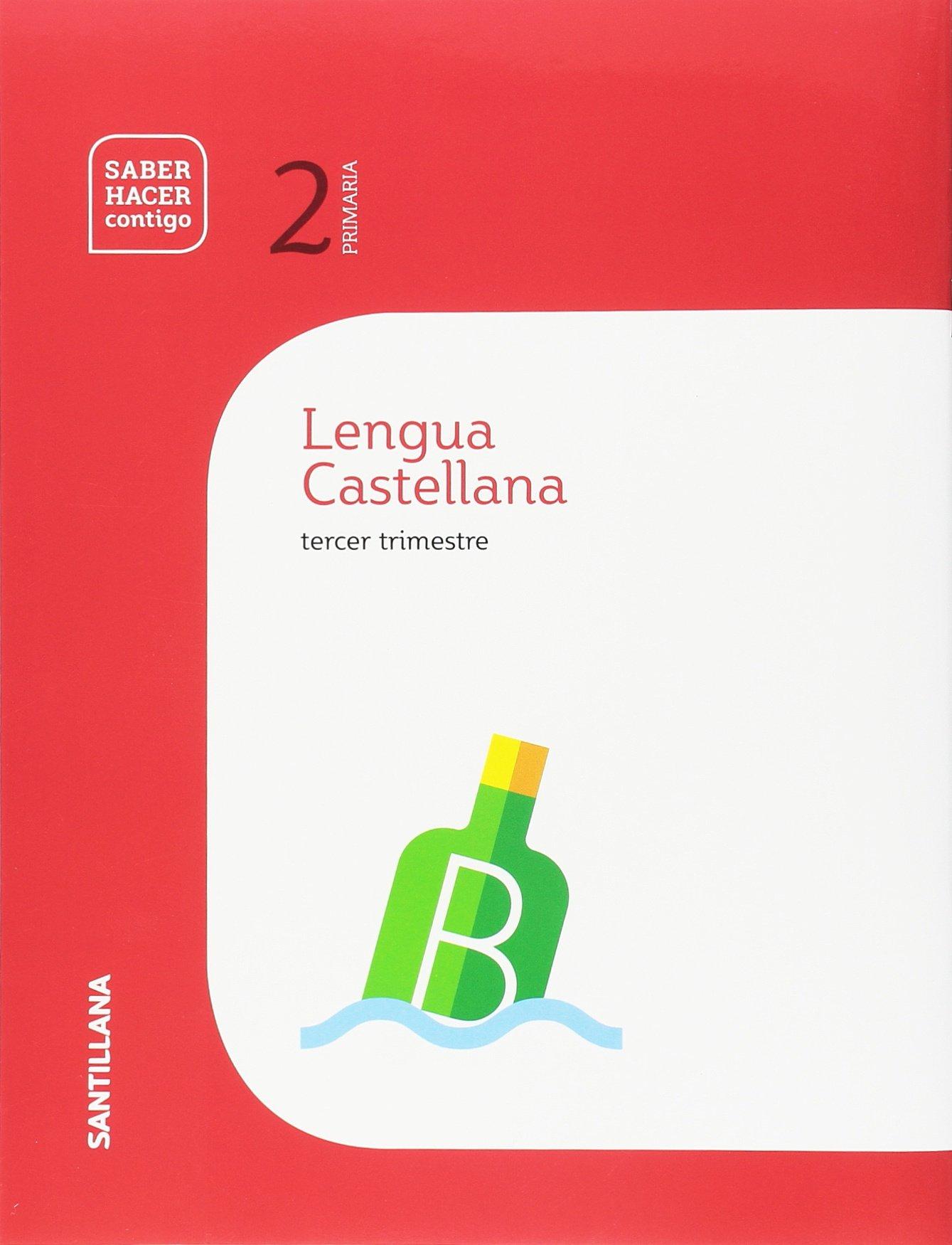 CUADERNO LENGUA PAUTA 2 PRIMARIA 3 TRIM SABER HACER CONTIGO: Amazon.es:  AA.VV: Libros