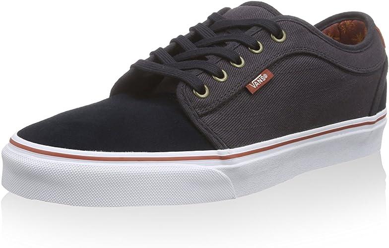 Vans M Chaussures Chukka Low Noir NoirGris, 37 EU