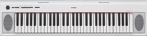 YAMAHAヤマハ電子ピアノNP-32WH専用スタンド・ヘッドホン・イス・クリーナークロスセットヤマハ(NP32白)ホワイト