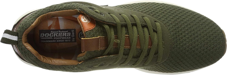 Dockers by Gerli Herren 44bc001-782850 Sneaker Beige Khaki 850