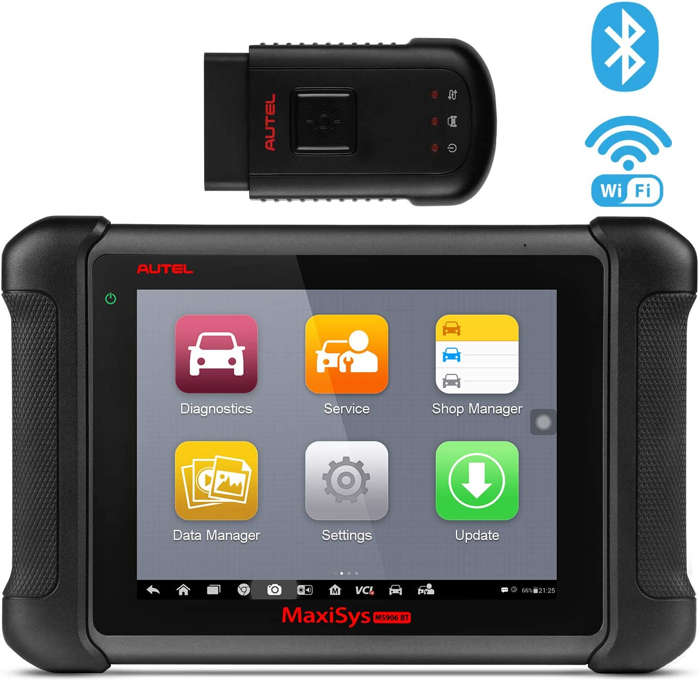 Automotive Scan Tool >> Autel Maxisys Ms906bt Bluetooth Automotive Scan Tool Diagnostic Scanner With Ecu Coding Key Coding Bi Directional Control Oil Reset Abs Srs Dpf