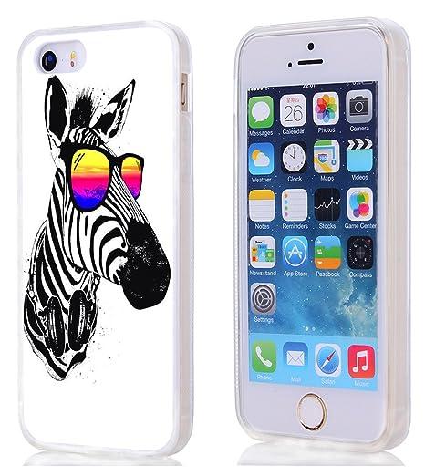 2a4d11fafb9 fundas iphone 5s,carcasas iphone 5 Linda divertida cebra animal ...