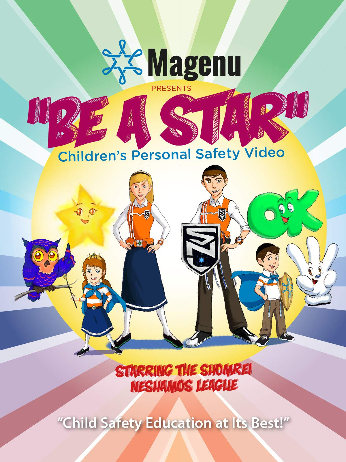 Be A Star - Children Personal Safety Video