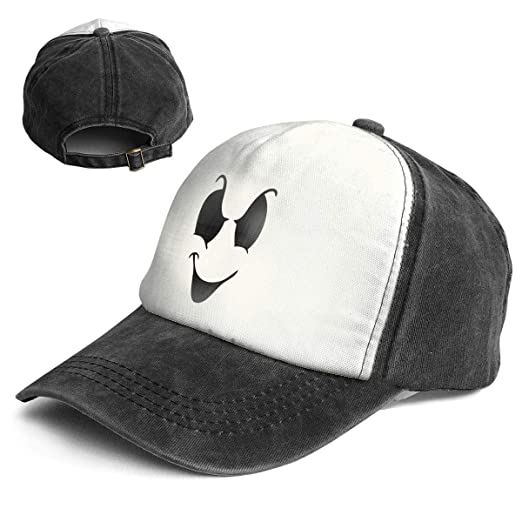 e868b06fe Spooky Ghost Face Baby Beanie Top Level Unisex Quick Dry Sun Cap ...