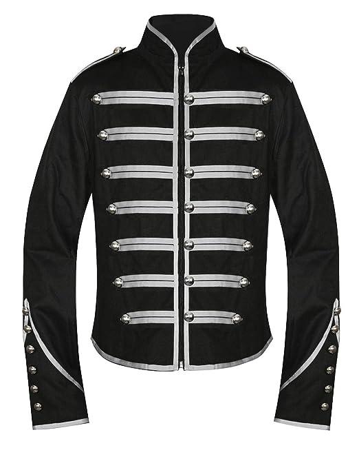 1 opinioni per Da uomo unico Gothic Steampunk argento Parade militare signicase fascia a
