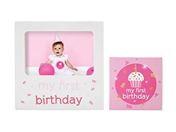 Amazon Tiny Ideas Babys First Birthday Milestone Baby Belly