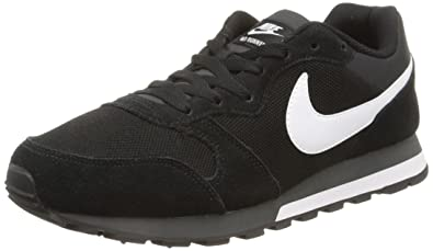 low priced 1e58a 40004 Nike Md Runner 2, Herren Gymnastikschuhe, Schwarz (Black White-Anthracite  010