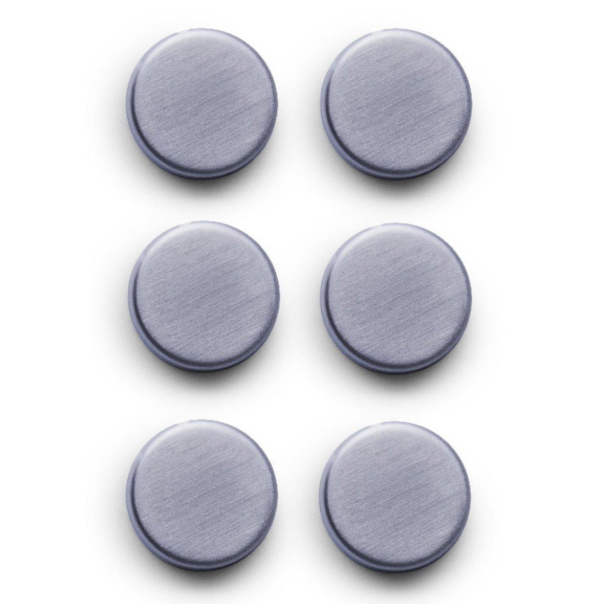 Amazon.de: Zeller 11203 Magnet-Set 6-teilig, Ø 2.7 cm, edelstahl