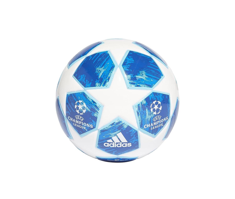 Adidas Finale18 Mini Ballon de Football Homme Blanc/Bleu Clair ADIEY|#adidas CW4130