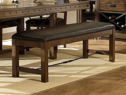 Superieur Rustic Turnbuckle Dining Room Furniture In Burnished Oak (Dining Bench)