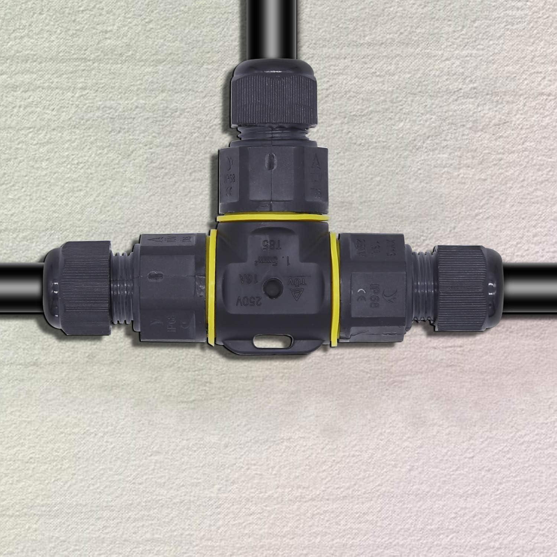 r/éparer les manchons de raccordement manchons de raccordement rallonger le c/âble de terre rallonge manchon de terre pour c/âble de terre de /Ø 1-13 mm de diam/ètre Connecteur de c/âble /étanche IP68