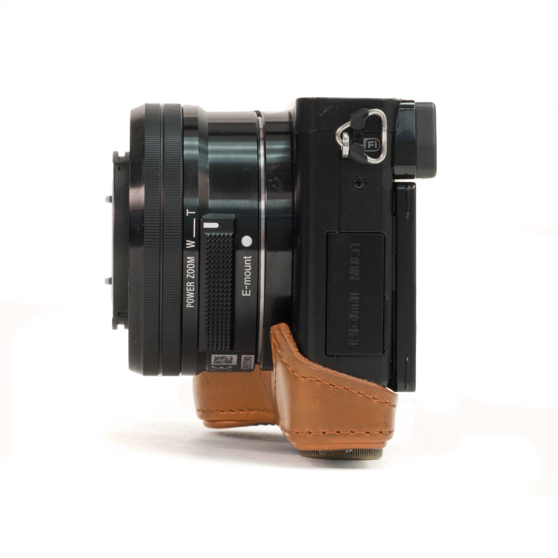 Funda MegaGear MG309 Estuche para c/ámara fotogr/áfica Funda, Sony, Alpha A5100, Alpha A5000, Negro