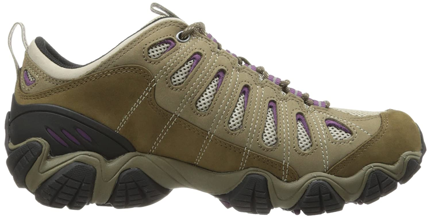 Oboz Women's Sawtooth Low BDry Hiking Shoe B01N5VCAO0 6.5 C US|Violet